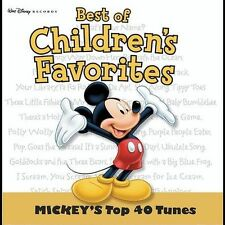 Mickey's Mickey Mouse Top 40 Disney CD Music 41 Songs Kids Children's Music NEW