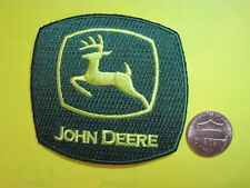 JOHN DEERE FARM TRACTOR PATCH CLOTH SMALL SEW ON CAPS SHIRTS JACKETS COVERALLS