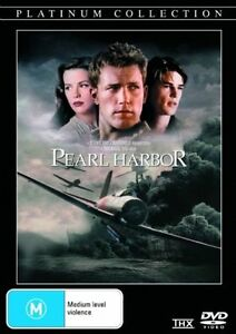 PEARL HARBOR DVD BEN AFFLECK REGION 4 NEW AND SEALED