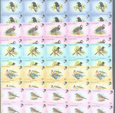 WHOLESALE 500 MINT of 5 DIFFERENT RARE SPECIES LESOTHO BIRD STAMPS = TOTAL 2,500