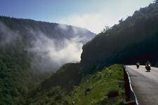 454043 Early Morning Vapor On Cabot Trail Nova Scotia A4 Photo Print