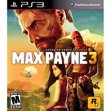 Max Payne 3 (Sony PlayStation 3, 2012) -Complete PS3