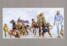 Ex-Libris HERMANN signed Artprint DRUCK Andy Morgan,Comanche, Jeremiah,Jugurtha