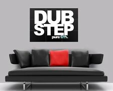 "DUBSTEP PURE FILTH BORDERLESS MOSAIC TILE WALL POSTER 35"" x 25"""