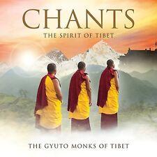 THE GYUTO MONKS OF TIBET - CHANTS: THE SPIRIT OF TIBET CD ALBUM (July 8th)