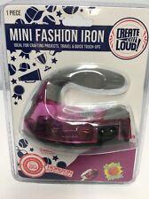 Horizon Mini Fashion Iron - Crafting & Travel Hot Press Decals Rhinestones Stud