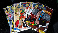 "COMICS  "" BATMAN & SUPERMAN ""  Dino 1995   Band  1 - 8   Z1    bb"