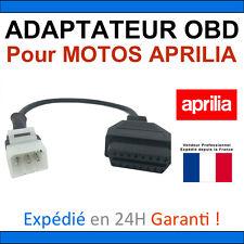 Adaptateur OBD2 vers APRILIA 6 voies TUNE ECU - Compatible MOTOS APRILIA TUNEECU