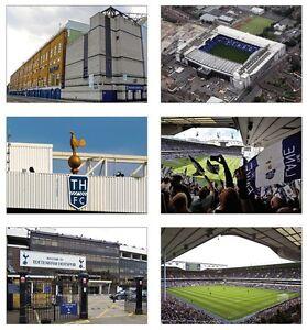 Goodbye White Hart Lane Tottenham POSTCARD Set