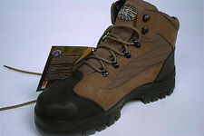 OLIVER Lace-Up Hiker Safety Boots, UK Sizing 6, Charcoal.