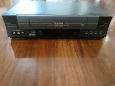 Toshiba W-528 4-Head Hi-Fi Video Cassette Recorder VCR (No Remote)