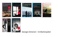 🚬  7x Georges Simenon im Bücherpaket -  Maigret Krimi Sammlung Atlantik Verlag