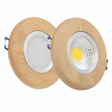 Ring solid wood led downlight 5W led recessed lights LED ceiling spotlight lamp
