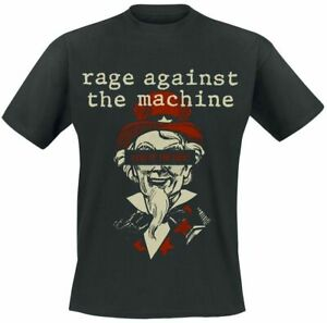 Official Rage Against The Machine T Shirt Sam Free Black Classic Rock Metal Band