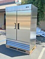 NEW Two Door FreezerCommercial Reach In Stainless Steel Freezer XB54F NSF