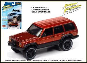 Johnny Lightning 1:64th Diecast Car Jeep Cherokee XJ by Auto World
