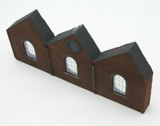 Detailed Model Railway Low Relief Factory For HO / OO   005
