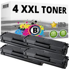 4x XL tóner cartuchos para Samsung ml-2160 ml-2165w scx-3400f scx-3405fw scx-3405w