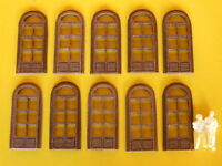 Porte per stazione stile Italiano per modellismo HO-1/87 pz.10 - Krea