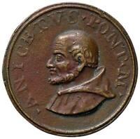 s1398) Medaglia Papale  Sec XVIII - San Aniceto (154-166) Op: Pozzo Æ Ø 42