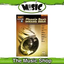New Classic Rock Trumpet Play Along Music Book & OLA - Volume 3