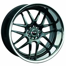 17X9/10 XXR 526 Rims 5x100/114.3 +25/20 Chromium Black Wheels (Set of 4)