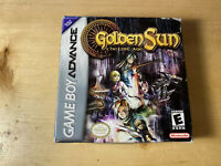 GOLDEN SUN THE LOST AGE (GBA Game Boy Advance) ORIGINAL BOX and Manual, No Game