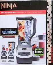 Ninja Professional Blender & Nutri Ninja Cups 1100 Watts New