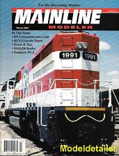 Mainline Modeler Mar.04 DM&IR Reefer BN Hoboken Railroad Track Ties KCS Gravette