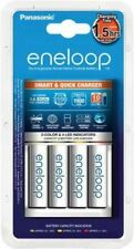 Eneloop 4-Slot Battery Charger for AA, with EU Plug
