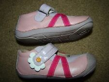 UMI Baby Toddler Girls Leather Mary Janes Shoes sz 7 (EUR 23) Pink , Purple