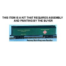R.E.A. 50' WOOD EXPRESS REFRIGERATOR CAR KIT - N SCALE: FNS #FNR-2003