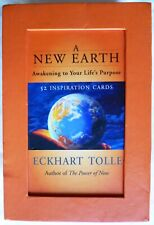 A New Earth~ Inspirational Cards Eckhart Tolle Awakening To Your Life's Purpose