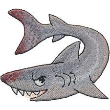 BLOODY SHARK BITE HAND TOWEL SET CUSTOM EMBROIDERED