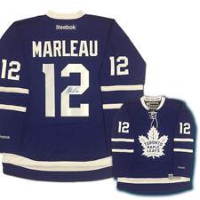 PATRICK MARLEAU Signed Toronto Maple Leafs Reebok Jersey