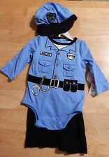 Koala Kids Police Officer Infant Boy's Outfit Costume 3-6 Months