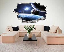 Weltraum Weltall Galaxy Basis Planeten Wandtattoo XXL Wandsticker Aufkleber C231