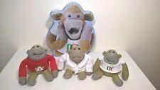 PG Tips Monkey Plush / Soft Toy / Bundle + Monkey Biscuit Tin