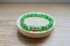 Successful Love Stone Antique Buddha Bracelet Healing Reiki Natural Gemstone