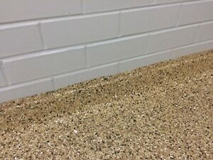 Epoxy Coving Commercial Kitchen Easy Wash Floors Sand&Clear Epoxy Complete Kit
