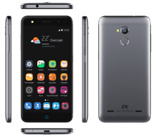 ZTE Blade V7 lite Gray - 16GB / 2Gb Quad-Core Smartphone 4G LTE 13Mp - NEU