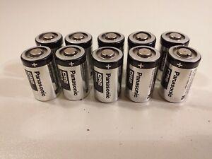 10 x Panasonic CR2 Industrial Lithium 3V für Kameras geeignet