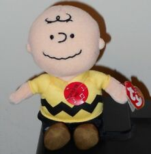 fa3cb3589db NMT  Ty Beanie Baby ~ CHARLIE BROWN (Plays Music) (Peanuts Cartoon)