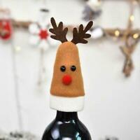 Wine Bottle Cover Elk Xmas Table Decor Christmas Holiday x1 Decoration H8X4