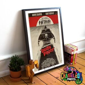 Death Proof A4 A3 Quentin Tarantino Movie Prints