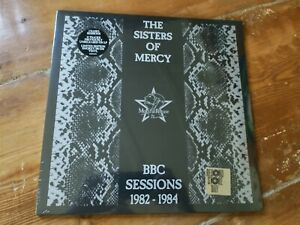 THE SISTERS OF MERCY BBC Sessions 1982-1984 Smokey Vinyl Double LP RSD goth cult