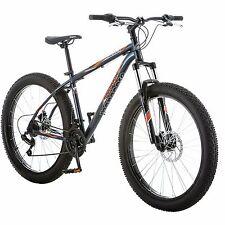 "Fat Tire Bike Mongoose 27.5"" Terrex Men's Terrain Bicycle Steel Frame 21 Speed"