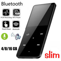 16GB Bluetooth MP3 Player MP4 Media FM Radio Recorder Sport Music Speakers Lcd Z