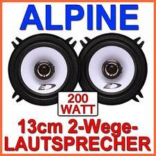 Alpine SXE-1325s - 130mm ALTOPARLANTE SET 13cm KOAXE COPPIA AUTO CAR HI-FI NUOVO