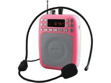 Supersonic Sc-1397Bt-Pnk Pink Bluetooth Portable Pa System